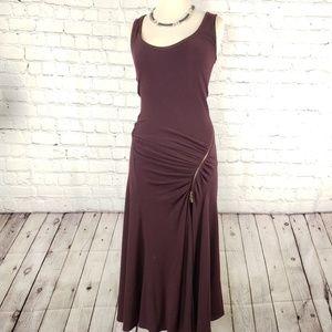 Donna Karan Wool /Rabbit blend dress